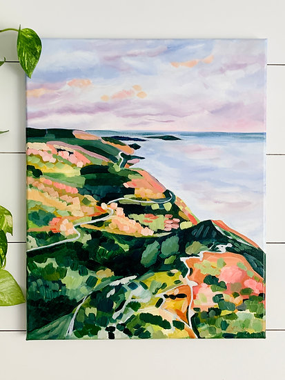 """Skyline Trail - 16x20"""" Acrylic Painting on Canvas"""