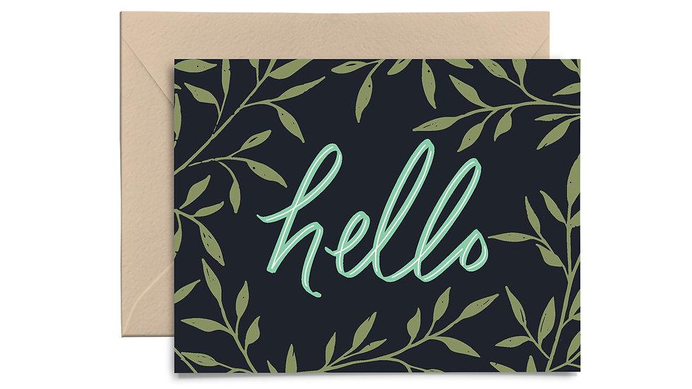 Note Card Set - Hello Navy