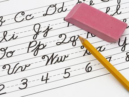 How to Teach a Kid's Cursive Writing Workshop