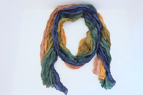 Seiden-Crash Schal