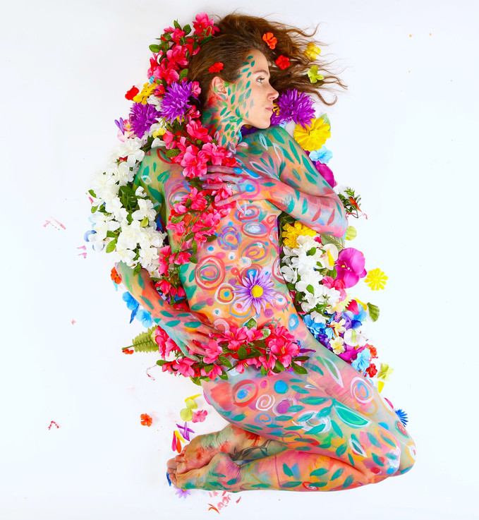 Photo by Jeremy Sailing. Body paint by Alyssa D'Anna