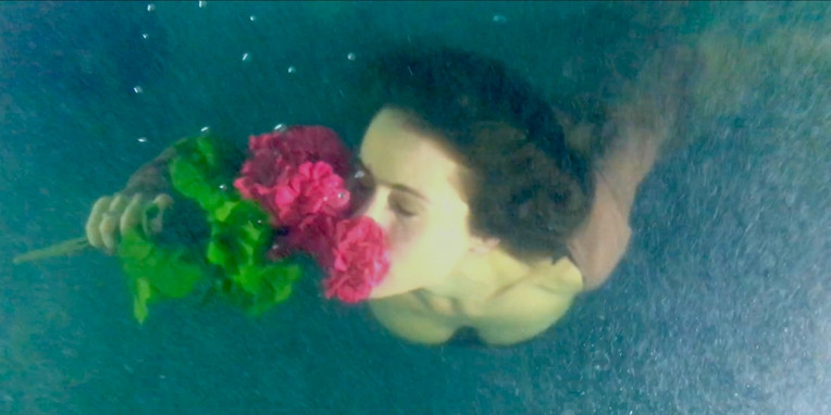 """Still from """"Solitude In A Song"""" video"""