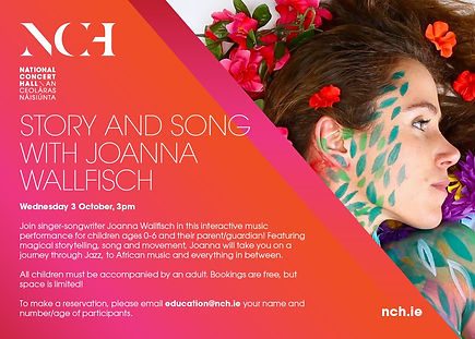 Story and Song with Joanna Wallfisch 3pm