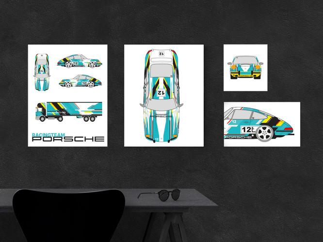 Porsche Racing Team No.3