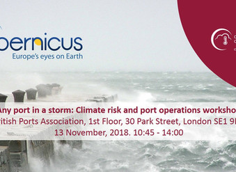 ForeCoast® Marine teams up with the British Ports Association to host climate risk and ports operati