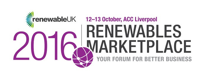 RenewableUK Renewables Marketplace 2016