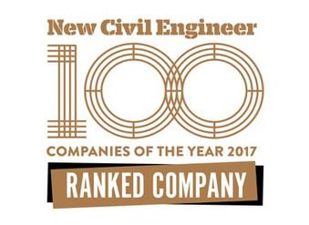 JBA ranks 6th in the NCE100 UK & International engineering companies