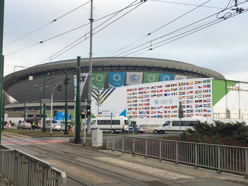 COP24 - exhibition centre