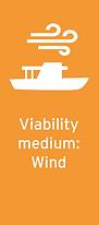 Viabiltiy medium: wind