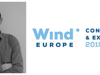 Laurie Wilkinson presents at WindEurope 2019