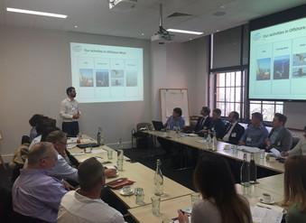 """""""Winds of Change"""": Delegates meet for offshore wind workshop"""