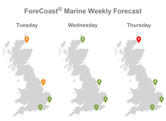 New website feature: Weekly Forecast