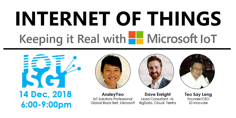 Internet of Things: Keeping it Real with Microsoft IoT