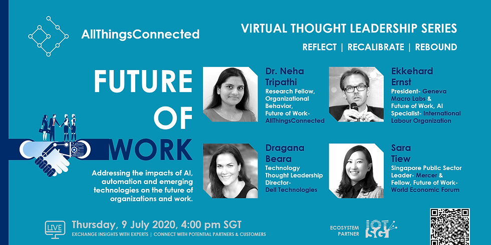 Future of Work- Addressing Impacts of AI & Automation