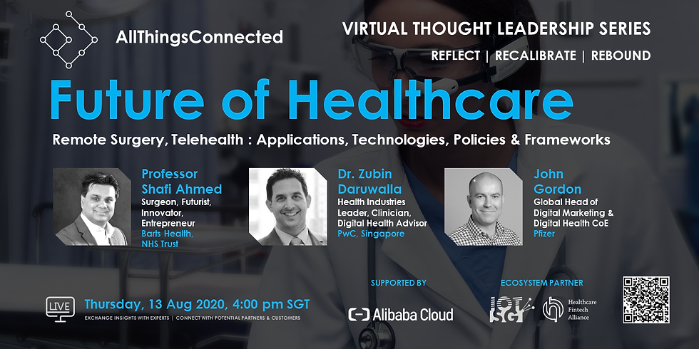 Future of Healthcare: Remote Surgery, Telehealth