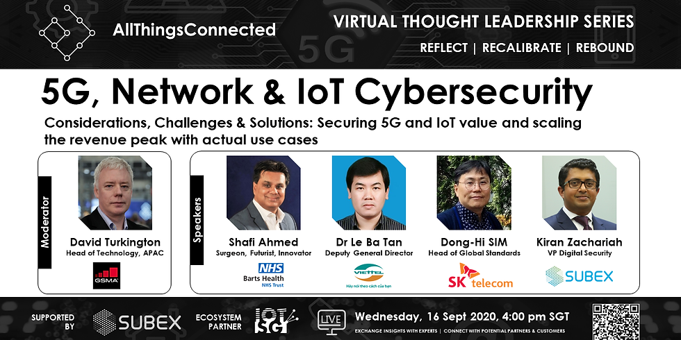 5G, Network & IoT Cybersecurity