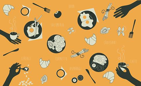 Illustration and Interior Design Service Oxford Retail Restaurant Design