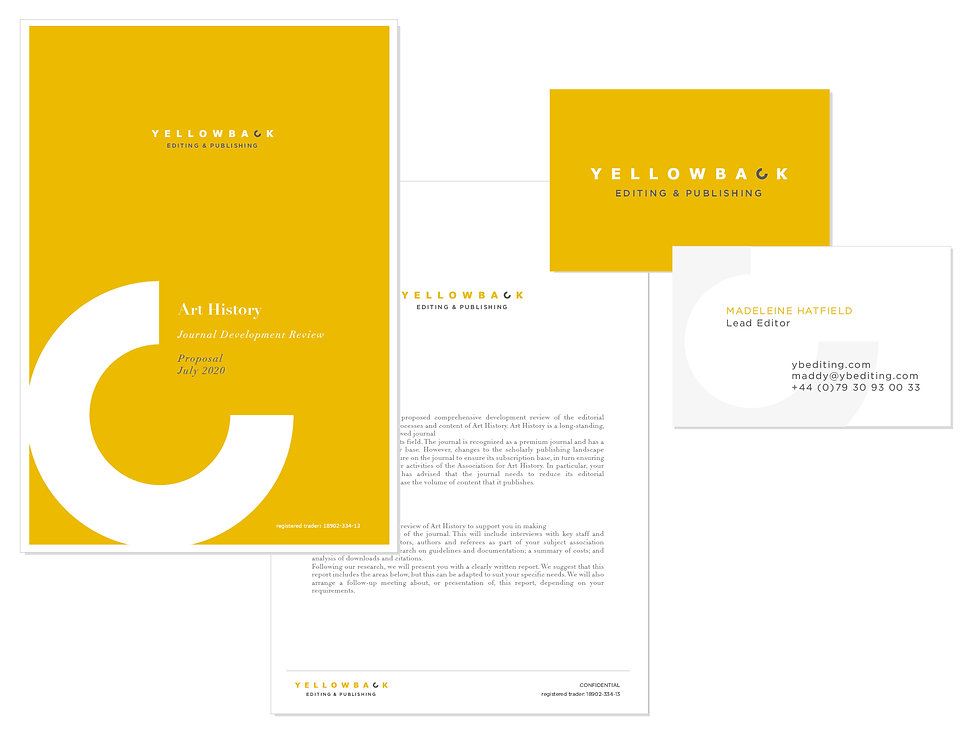 Small Business Branding Publication and Editing The Brand New Studio Ltd