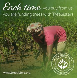 Tree Sisters Sustainable Wedding Station