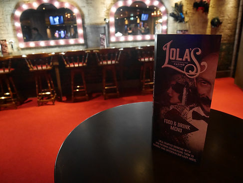Lolas Underground Casino Hippodrome Identity and Branding