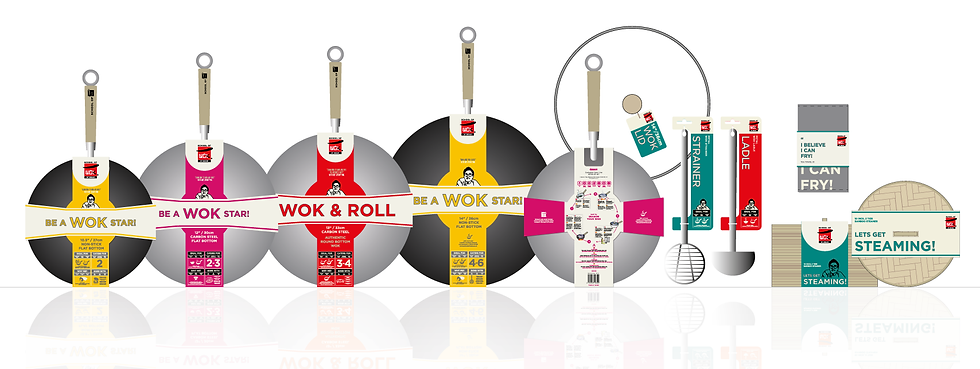 School of Wok Dexam Award Winning Packaging Design The Brand New Studio Ltd