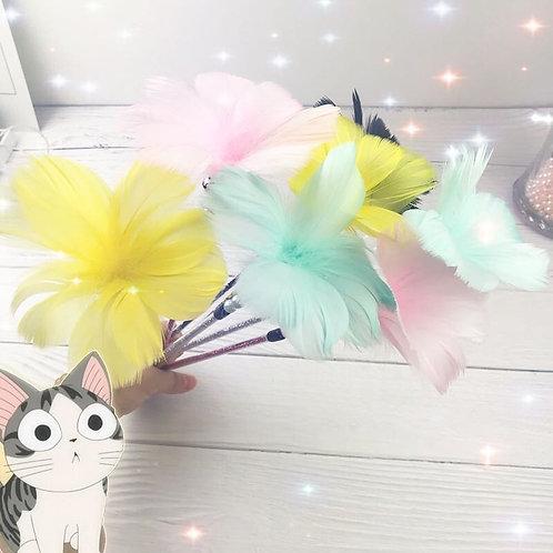 Handmade Macaron Cat Wands