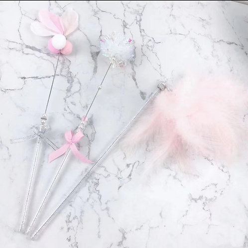 Handmade Fairytale Cat Wands in set 3
