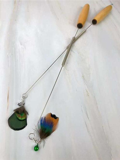 Handmade RealReal Feather Wand