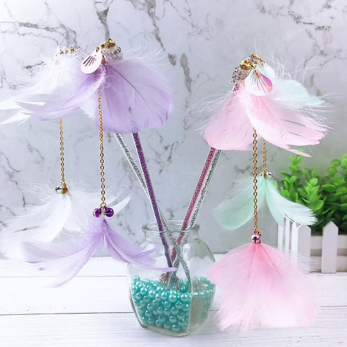 Handmade Fairy-Tears Cat Wand