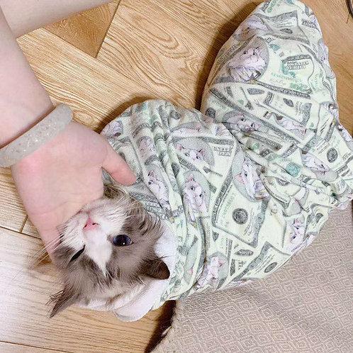 Elegant Bath Towel for Human/Cat