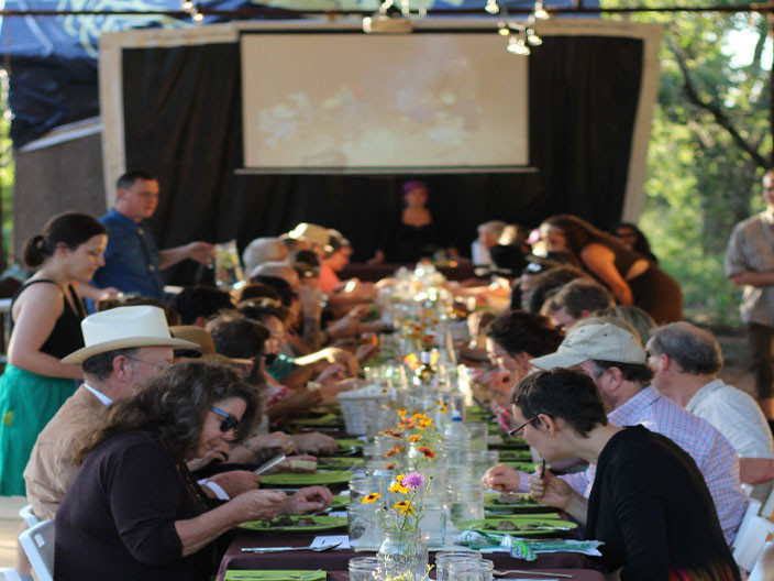 farm to table benefit dinner