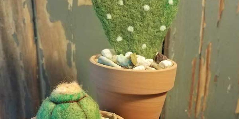 Needle Felt Cactus
