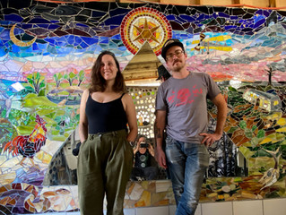 Multifaceted Resident Artists Cat & Ken Interview for Podcast