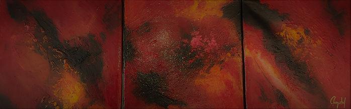 13 -CHALEUR CELESTE  3 x 20 cm x 1.5 cm.