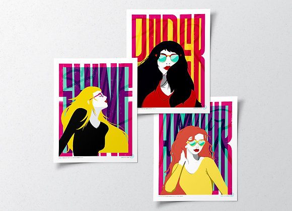 Moods Poster Series