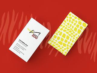 SacZoo Business Card
