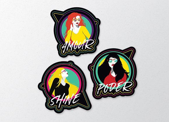 Moods Sticker Series