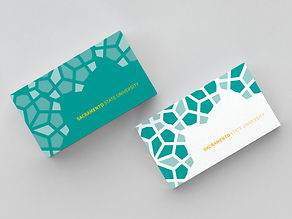 SacState Business Card