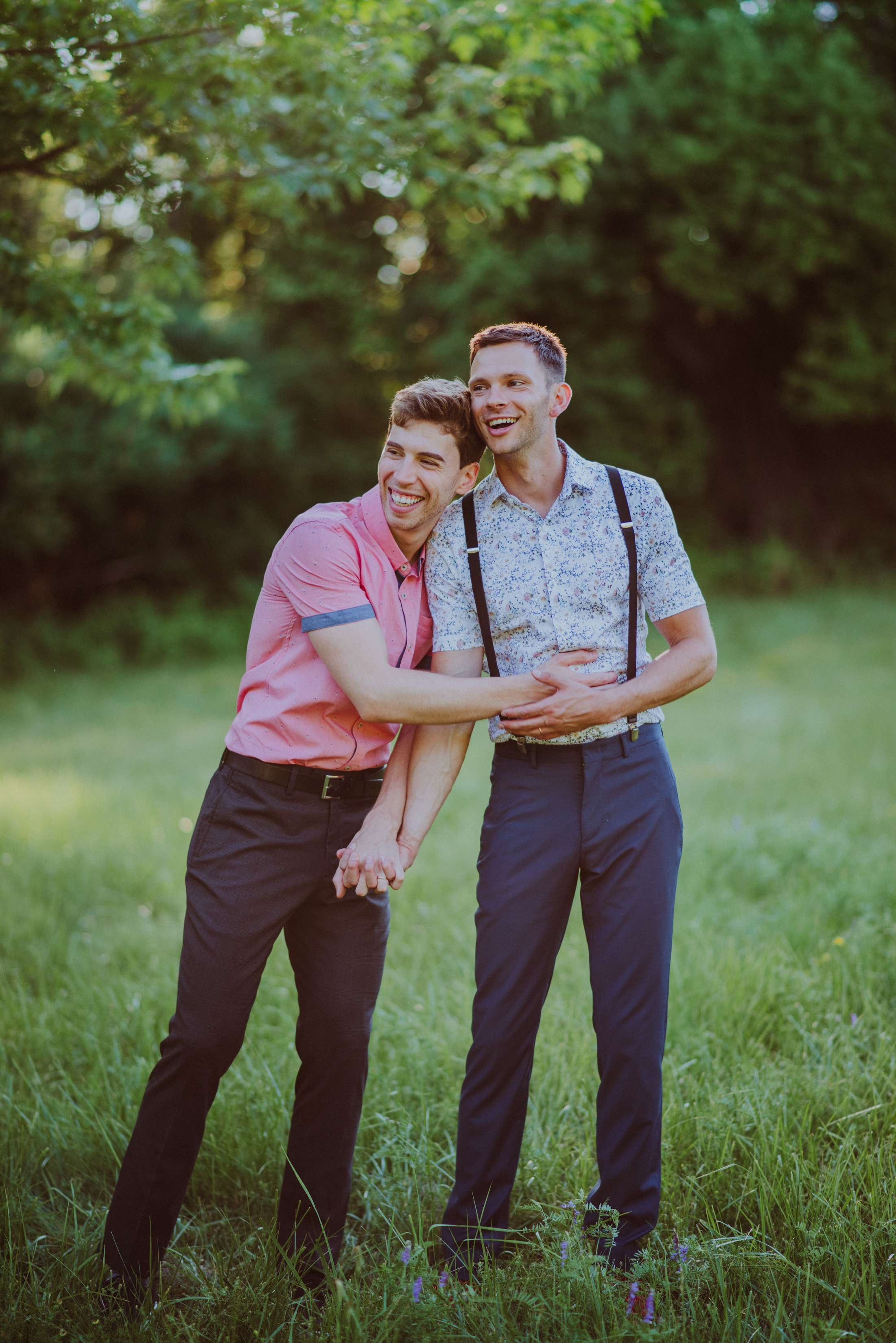 Jordan Gavaris and Devon Graye Wed