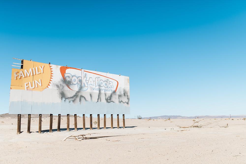 Water-park, Desert, Abandoned, Photography