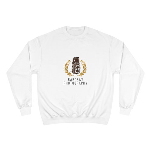 Barcsay Photography Front Logo Champion Sweatshirt