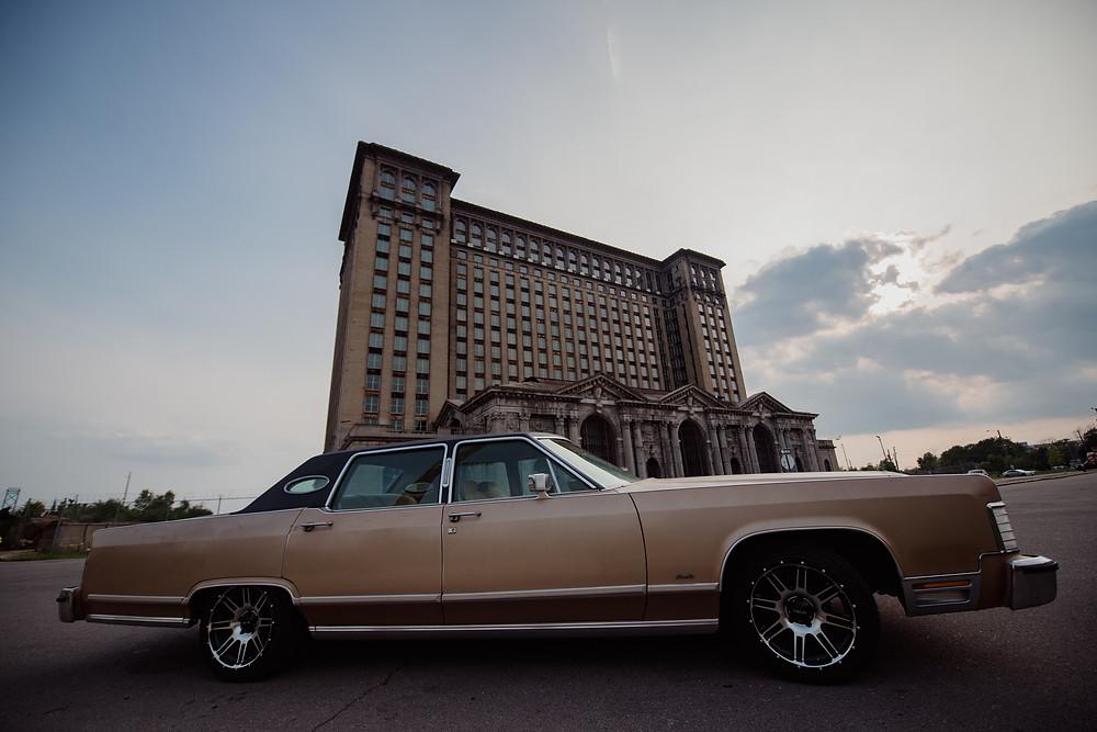 Detroit, Motor City, Car, Central Station, Cadillac, Classic, Car, Aretha Franklin, Abandoned, Urban Exploration