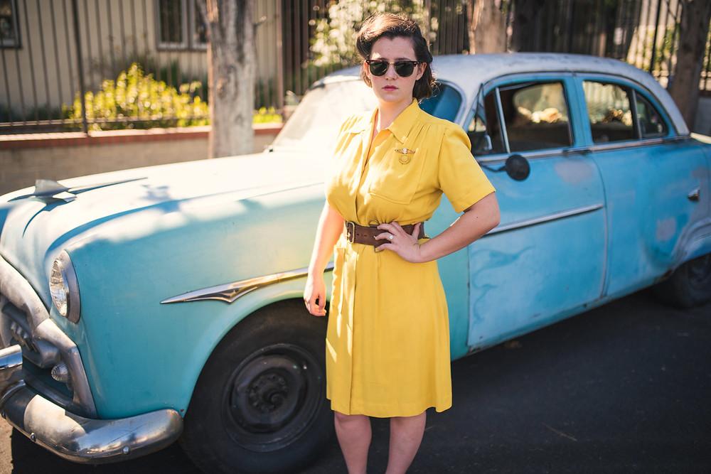 yashica, yashicamatlm, nikon, vintage, antique, film, mediumformat, 120, findthegirlsonthenegatives, 40s, 1940s, fourties, 50s, 1950s, fifties, yellow, model