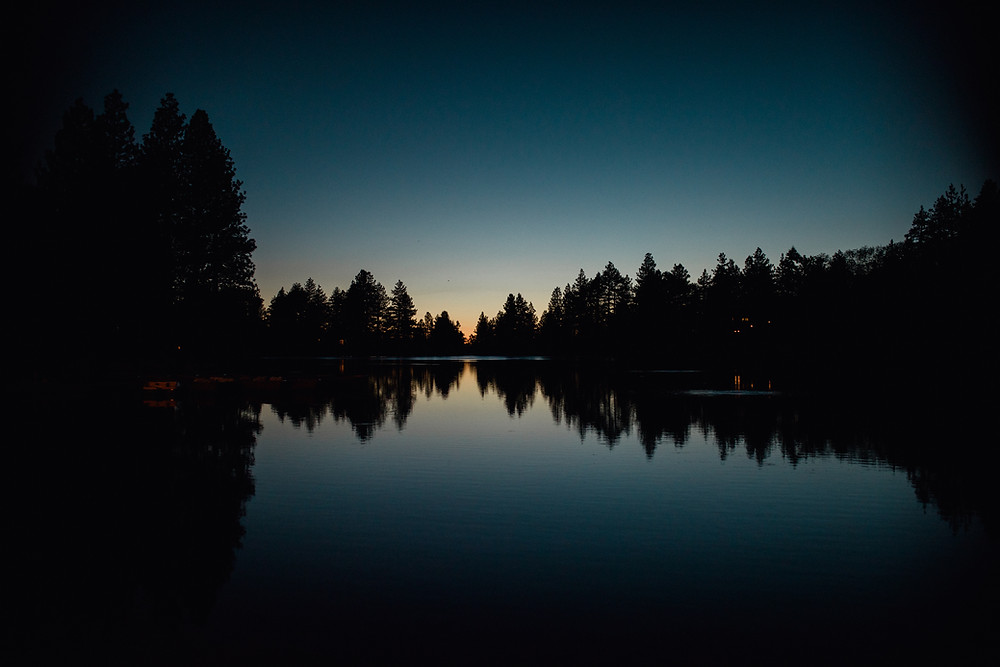 sunset, reflections, photography, landscape, green valley lake, photographer