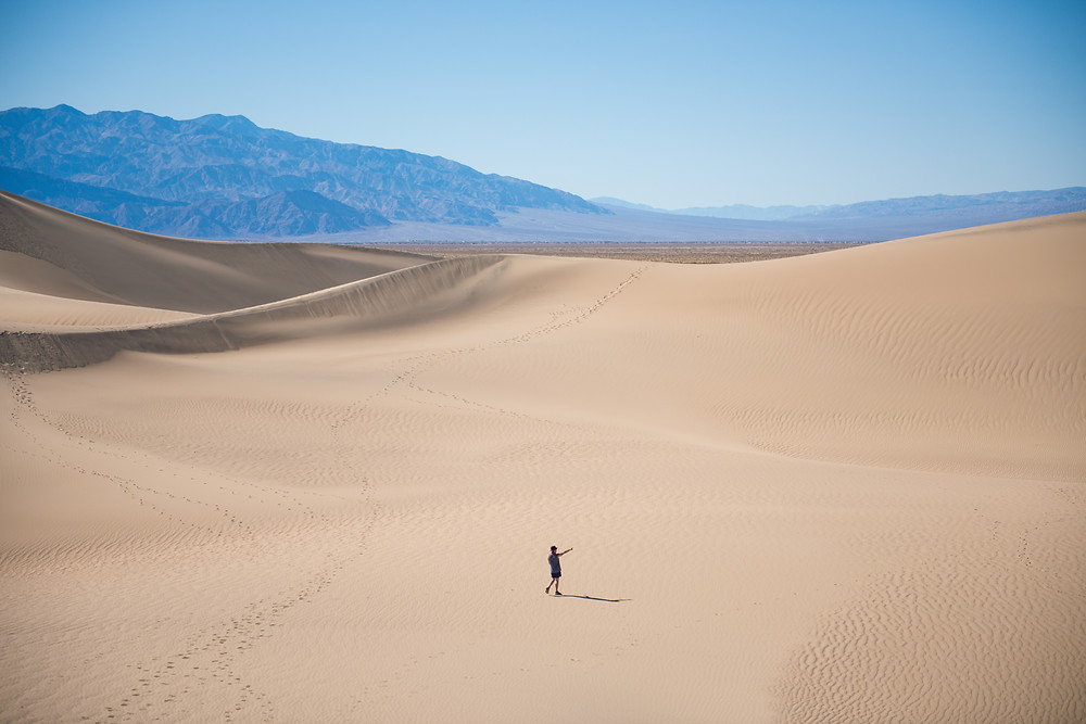 Dunes, Death Valley, Explorer