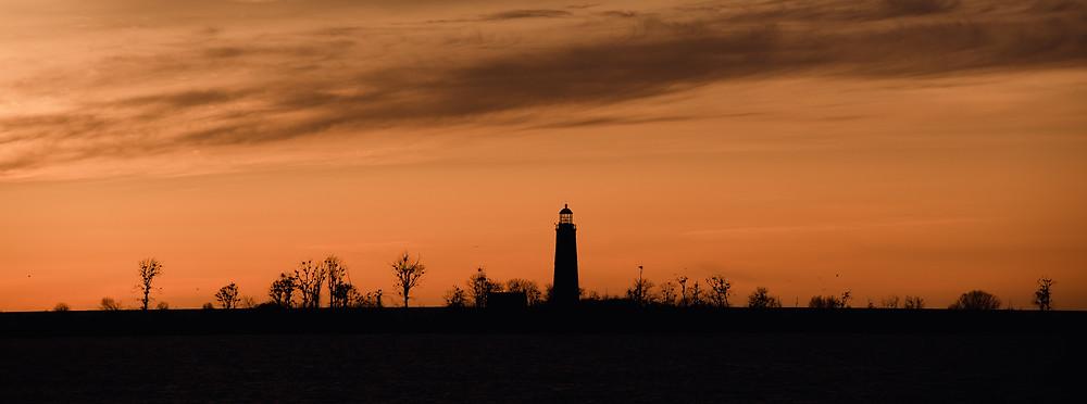 lighthouse, the hamptons, southampton, lake huron, toronto, ontario, sunset, sunrise