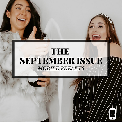 THE SEPTEMBER ISSUE | MOBILE