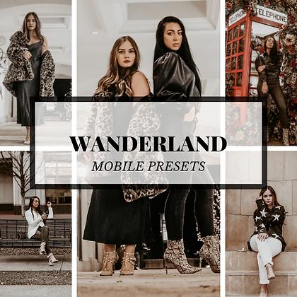 WANDERLAND | DESKTOP + MOBILE
