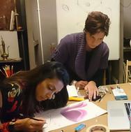 Pastels workshop