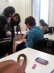 In the class